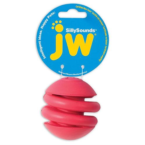 JW Pet SillySounds Spring Ball Medium