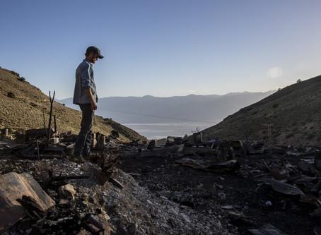 Cerro Gordo Fire: Ashes of Brent Underwood's Dream