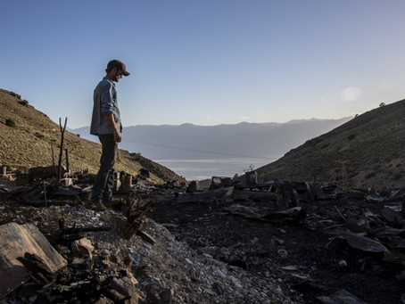Cerro Gordo Fire: Ashes of Brent Underwood's Dream