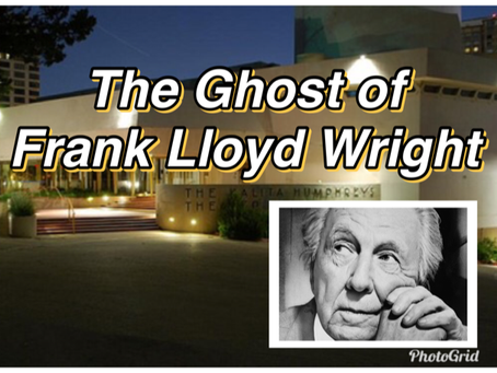 The Grouchy Ghost of Frank Lloyd Wright