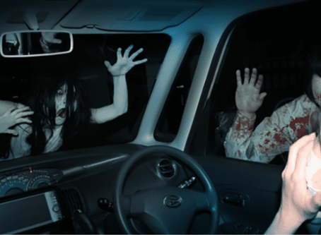 Japan's Haunted Drive-In (Pandemic Approved)