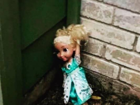 Haunted Elsa Doll Travels Cross-Country