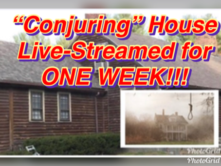 "LIVE-STREAM of the ""Conjuring"" House!!!"
