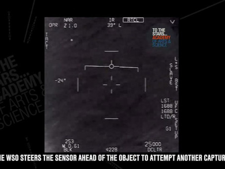 Pentagon Declassifies Navy Video of UFOs