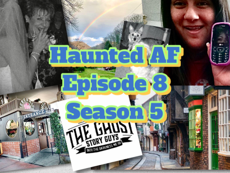 Haunted AF: High AF, Dressed in Tighty-Whities & Hunting Ghosts