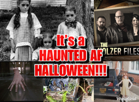 It's a Haunted AF HALLOWEEN!!!