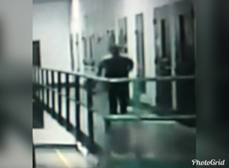 Grabbed by a Jailhouse Ghost (caught on tape)