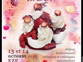 """Festival """"Les Gourmand'Eze"""" le samedi 13 et dimanche 14 Octobre 18"""