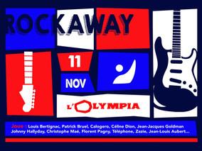 """Concert """"Rockaway 2018"""" le 11 Novembre 18 à l'Olympia"""