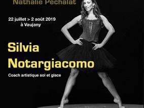 """Stage de patinage """"Nathalie Péchalat"""" du 22 Juillet au 02 Août 19"""