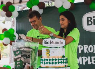 Um ano de compras grátis: Confira os sorteados da promoção de aniversário Bio Mundo