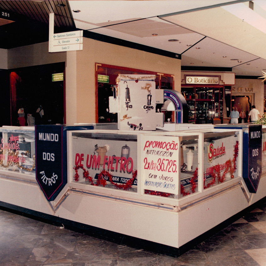 Stand Park Shopping ano 1991