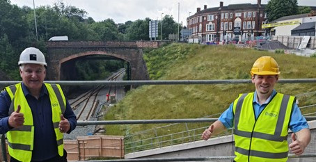 Dudley's pioneering Very Light Rail project remains firmly on track