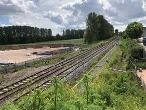 Work progressing at pace on new Marsh Barton rail station