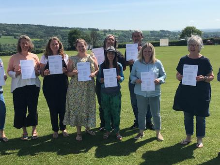 Network Rail volunteer leads mental health first aider training