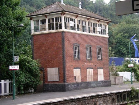 Disused Signal Box Sold at Auction