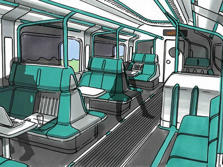 New Style of Adaptable Train Carriages