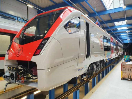 Testing begins on new Transport for Wales trains