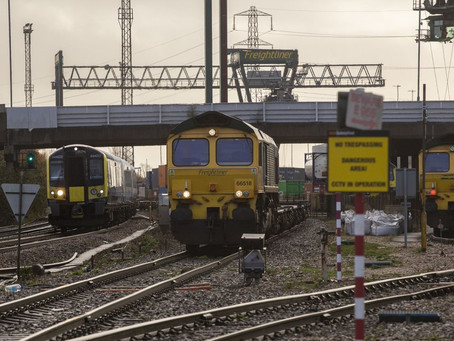 Network Rail and Highways England publish a Solent to the Midlands multimodal freight strategy