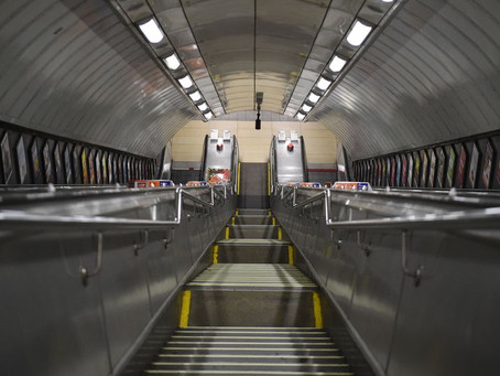 The First London Underground Escalator