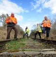 Volunteers Hopeful at Cambrian Heritage Railway