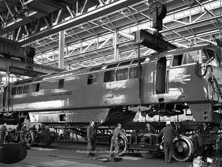 "Western Locomotive Association launch Bogie Appeal for locomotive D1013 ""Western Ranger"""