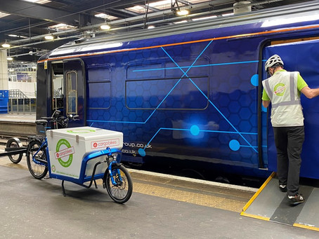 Passenger trains converted to deliver parcels to city centres