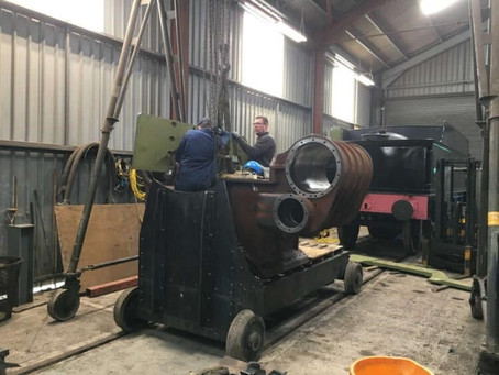 May update on GWR steam locomotive 3850 at Toddington