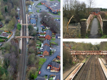 New Footbridge to Replace Rusting Structure at Oakengates