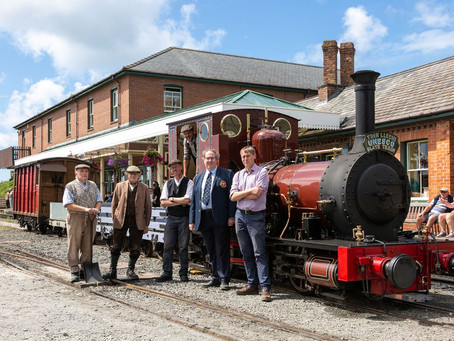 Talyllyn Railway is part of world heritage site in North Wales