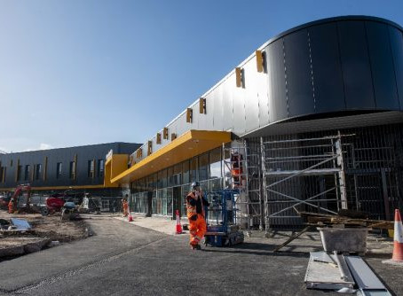 Wolverhampton's new Station Complete