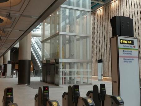 Paddington Crossrail Station on the Elizabeth Line to Reading is Finally Finished
