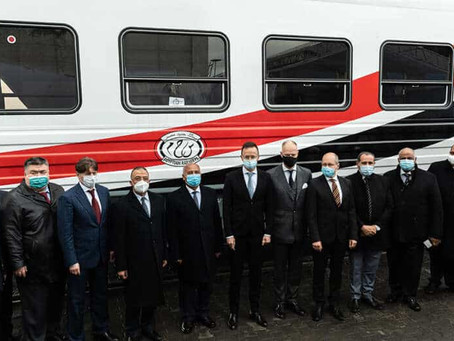 DHL is on Track with an Historic Move of 676 Passenger Coaches across Continents