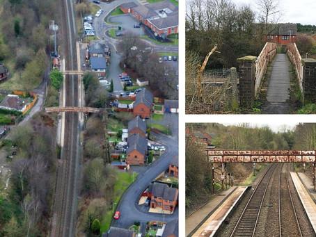 Oakengates railway footbridge to be replaced