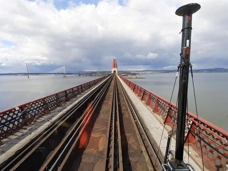 Surveying the entirety of Scotland's rail network