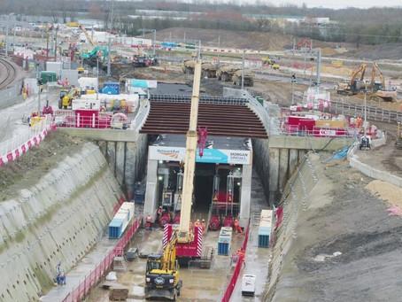 Morgan Sindall Team Completes 11,000-Tonne Rail Tunnel Push