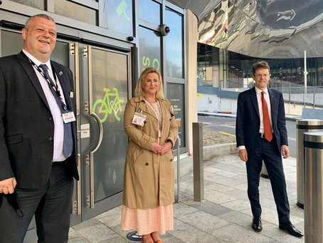 Secure 'cycle pod' opens at Birmingham New Street