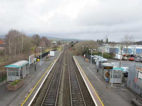 Vital track upgrade sees temporary closure of Craven Arms level crossing in Shropshire