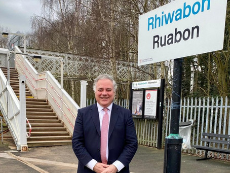 A Step in the Right Direction for Ruabon