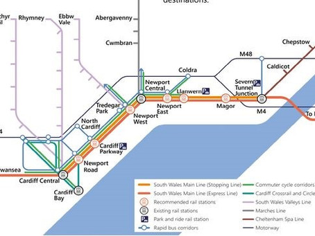 Six New Train Stations Proposed to Solve M4 Congestion