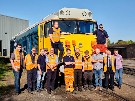Severn Valley Railway Class 50 Alliance wins HRA award
