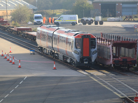 First Class 197 unit arrives from CAF