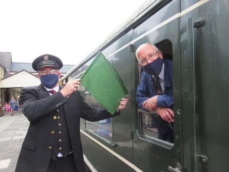 Llangollen Railway Back on Track!
