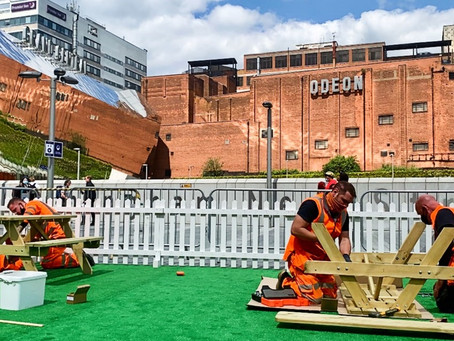 Birmingham New Seats: station set for summer city picnickers