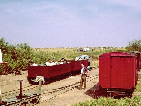 Published for the first time in 50 years - images from a Heritage Railway