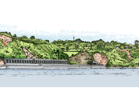 Plans Submitted for Rockfall Shelter Extension in Devon