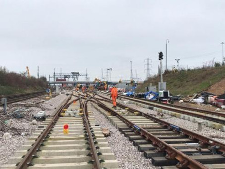 Major Rail Upgrade nears Completion at Southampton