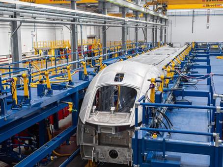 Hitachi Rail Starts Welding Brand New British Trains as Investment in Factory Reaches £110 million