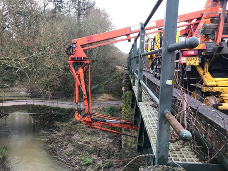 Network Rail gives 'Heart of Wessex' line some TLC
