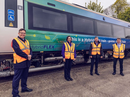 TPGroup Powers the UK's First Full-Scale Hydrogen Train